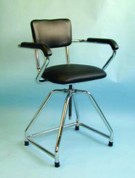 Whirlpool Chair - High Adjustable With Wheels