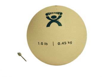 Plyometric Rebounder Ball 1 lb. Tan  5  Diameter