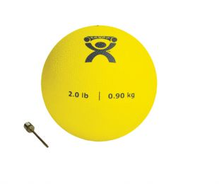 Plyometric Rebounder Ball 2 lb. Yellow  5  Diameter