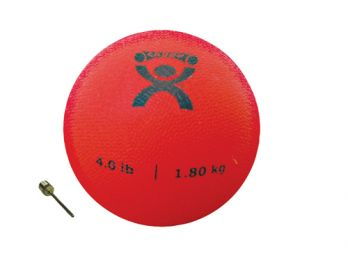 Plyometric Rebounder Ball 4 lb. Red  5  Diameter