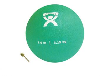 Plyometric Rebounder Ball 7 lb. Green  7  Diameter