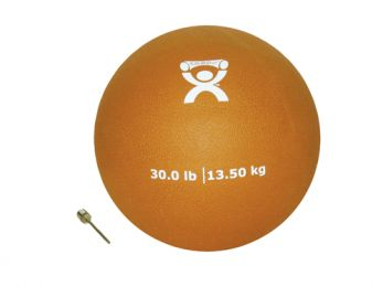 Plyometric Rebounder Ball 30 lb. Gold  9  Diameter