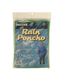 Hooded Rain Poncho
