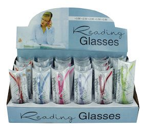 Reading Eyeglasses Display Pk/30