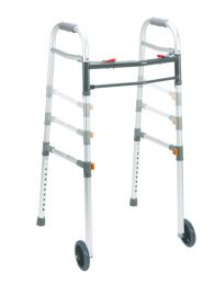 Universal Walker Two-In-One With Wheels