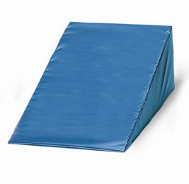 Vinyl Covered Foam Wedge 12 h x 24 w x 28 l  Navy