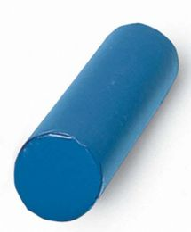 Vinyl Covered Bolster Roll Navy 12 x36
