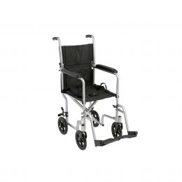 Wheelchair Transport Lightweight Silver 17