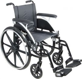 Wheelchair  Viper w/Flip Back Desk Arms  14   Elev Legrests
