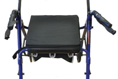Rollator Cushion  Black 13 L x 14  W x 2 H