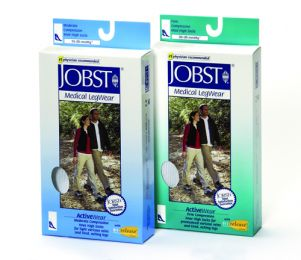 Jobst ActiveWear 20-30 Knee-Hi Socks White  X-Large