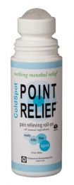 Point Relief ColdSpot Pain Relief Gel  3oz Roll-On