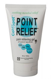 Point Relief ColdSpot Pain Relief Gel  4oz Tube