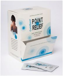 Point Relief ColdSpot Pain Gel  Dispenser w/100 5gm Packs