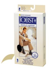 Jobst for Men 30-40 Thigh-Hi Khaki Medium