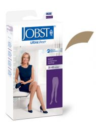 Jobst Ultrasheer 30-40 mmHg Pantyhose Honey Large