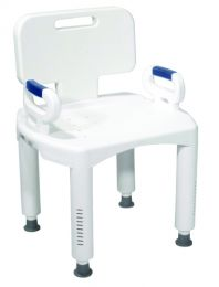 Bath Bench  Premium Series with Back and Arms
