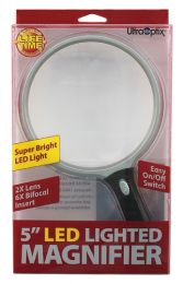 Magnifier Lighted LED 5  Round