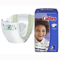 Cuties CRD701 Size 7 Baby Diapers-80/Case