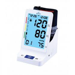Blue Jay Perfect Measure Big Digit Talking Deluxe Blood Pressure Monitor